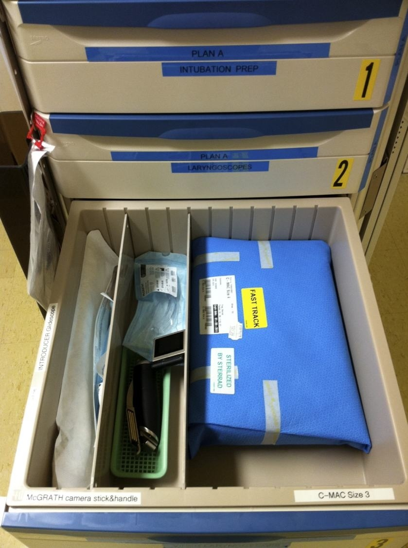 Difficult Airway Trolley At Alfred Hospital Prehospital