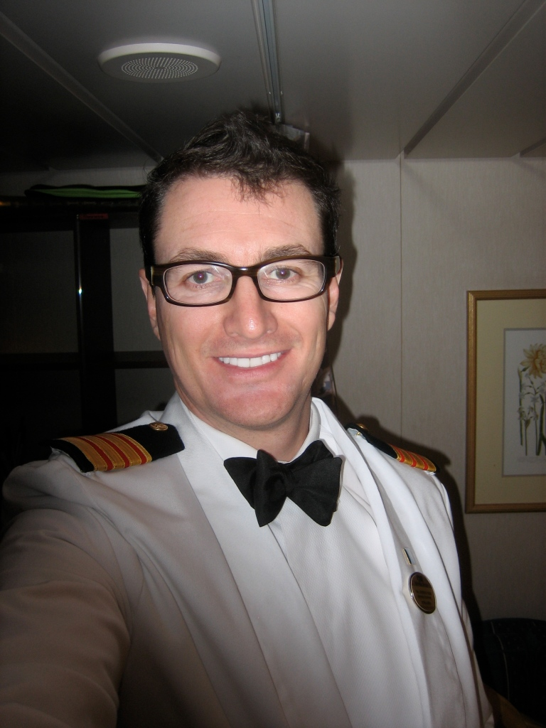 Dr Andrew Tagg, new PHARM co-author, Doctor at Sea series