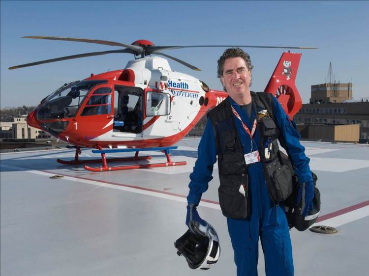 Dr Mike Abernethy, Flight Physician , Wisconsin, USA