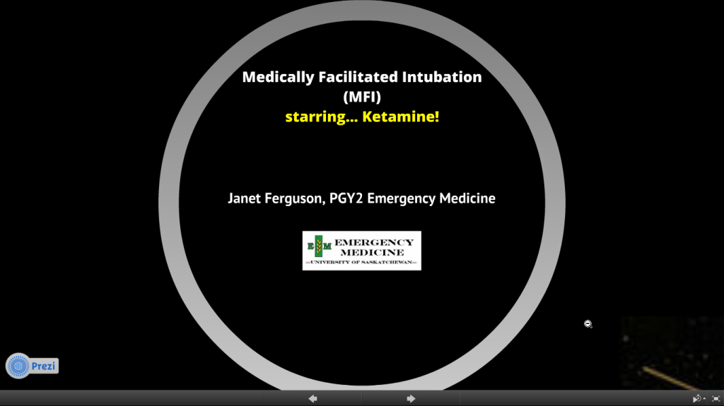 Medical Facilitated Intubation with Dr Janet Ferguson