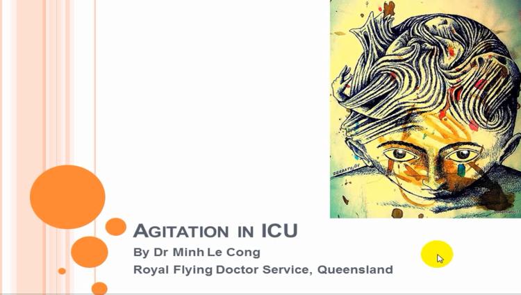agitation in ICU