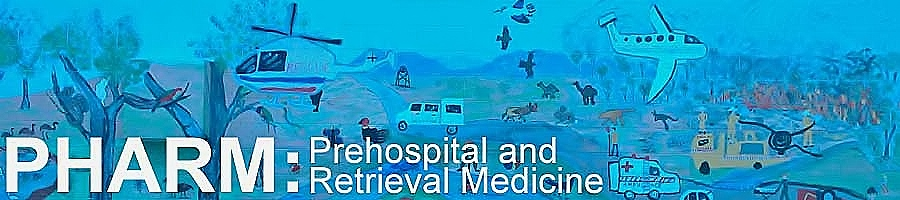 PHARM Prehospital and Retrieval Medicine Blog