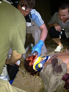Simulation training at RFDS STAR course