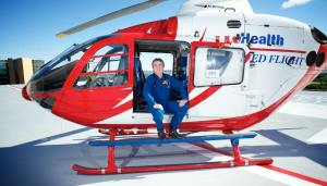 Dr Mike Abernethy, Chief Flight Physician, Med Flight, Wisconsin, USA
