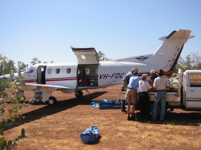 RFDS Mt Isa aeromedical team on primary trauma retrieval