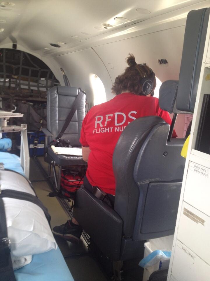 We have Flying Nurses in this mobile ER. They are awesome