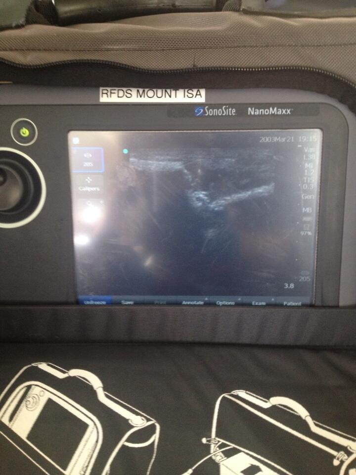 We have medical imaging in our Flying ER