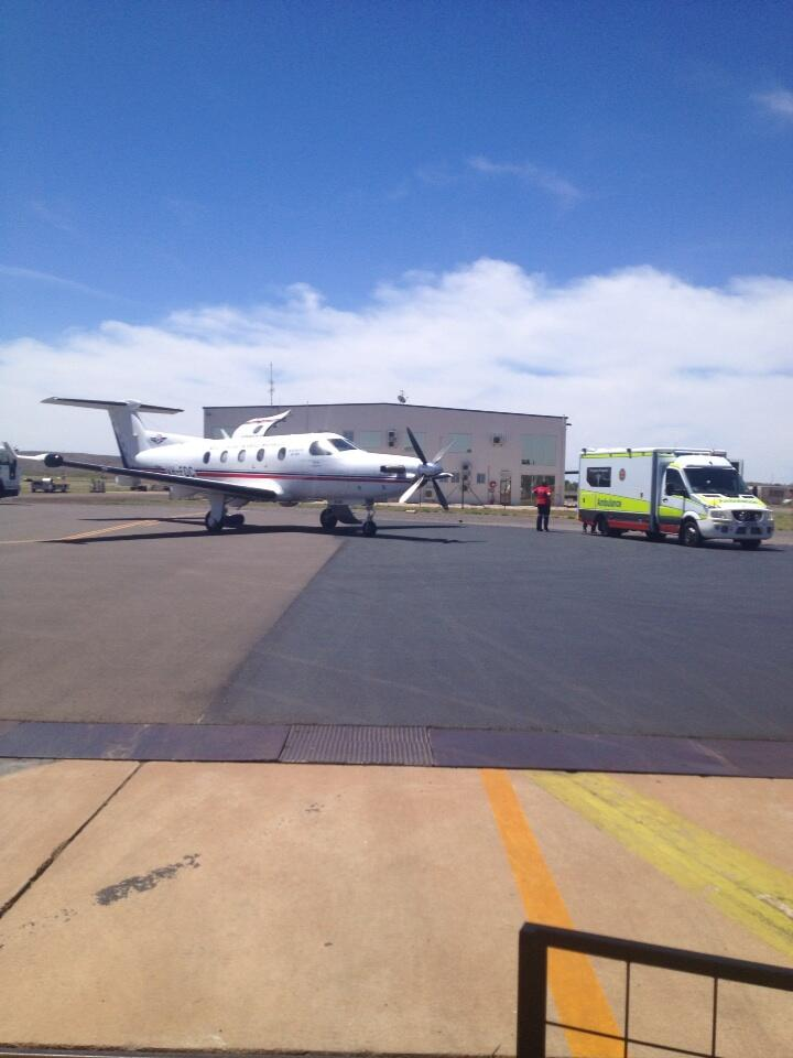 And its time to offload our patients to a non Flying ER!