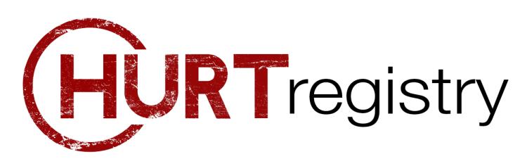 HURT Logo White Bkd