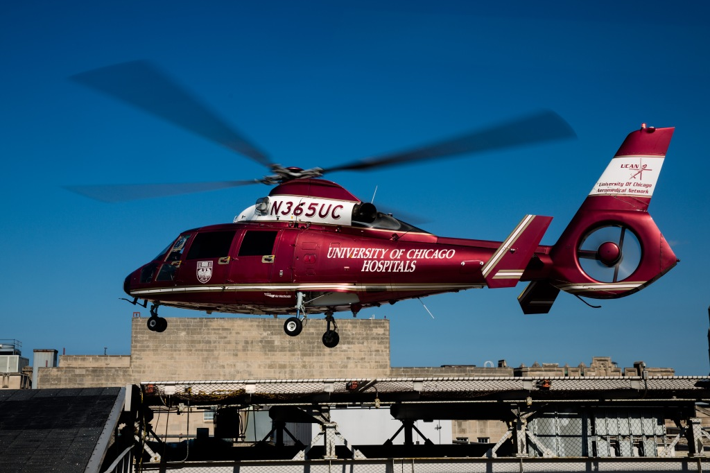 University of Chicago Aeromedical Network