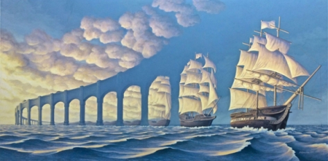 This is not a post about drug-altered states. (By Rob Gonsalves.)